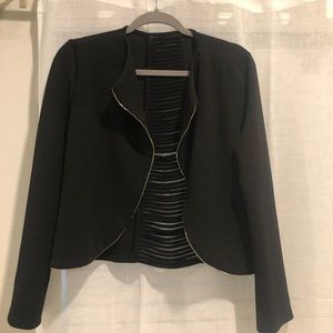 """Super cute open """"caged"""" back jacket"""